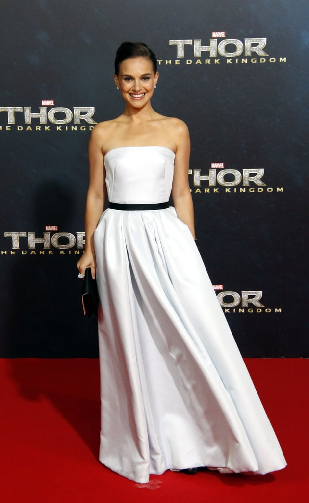 Natalie Portman Red Carpet Dresses For Thor Popsugar