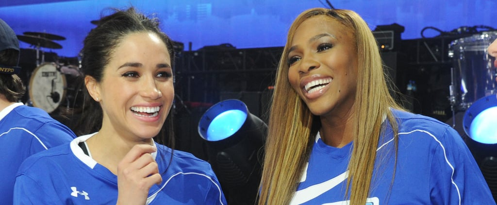 Serena Williams Dodges Question About Meghan Markle Video