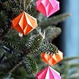Paper Diamond Ornaments