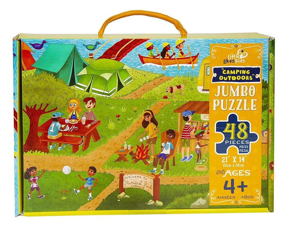 Camping Outdoors Jumbo Puzzle