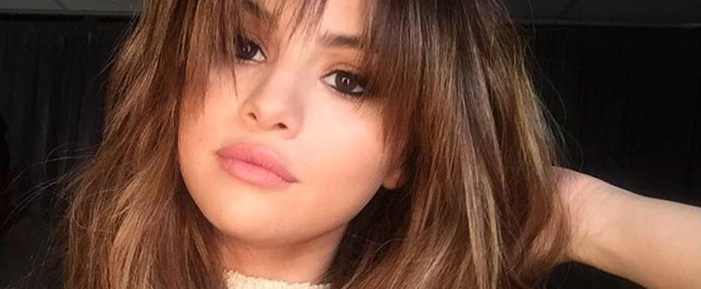 Selena Gomez's New Bangs June 2016