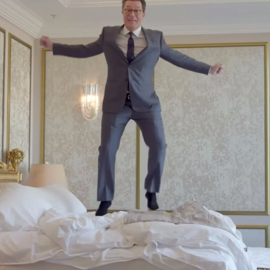 Stephen Colbert Rents Trump's Hotel Room in Russia