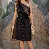 Salma Hayek's minidress was the star of the show at the Puss in Boots premiere in 2011 in Los Angeles.