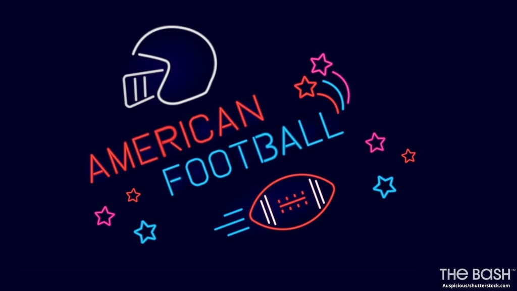 American Football Zoom Background