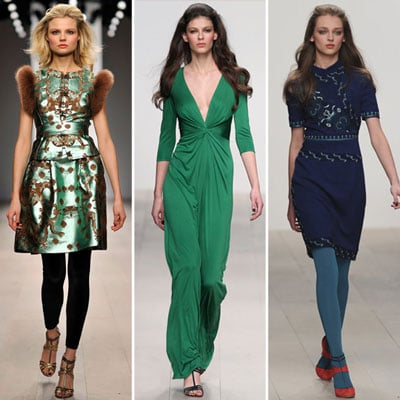 Review and Pictures of Issa London Fashion Week Runway Show