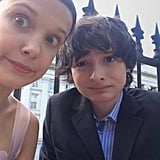 Millie Bobby Brown and Finn Wolfhard Pictures