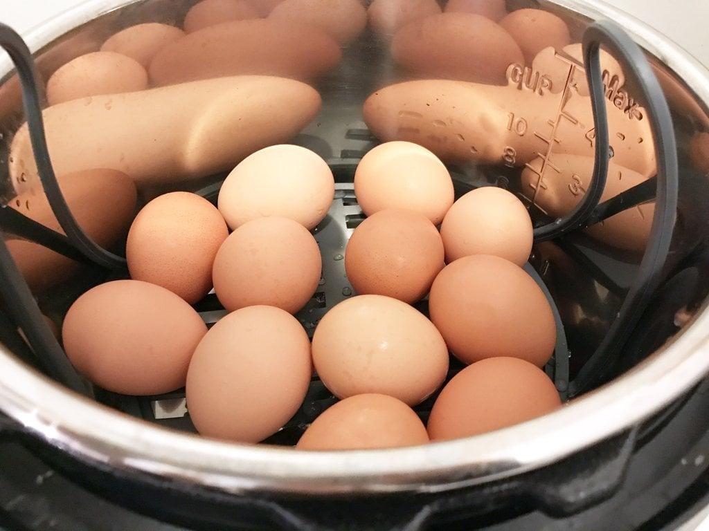 Pressure-Cook Hard-Boiled Eggs