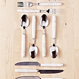 Marble Swirl Flatware Set