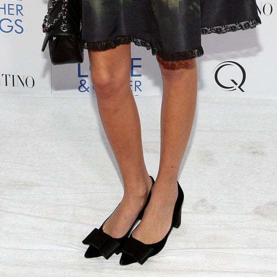 Alexa Chung Wearing Louis Vuitton Heels 2011