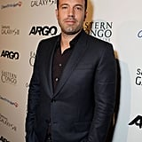 Ben Affleck combined two of his passions at the charity screening.