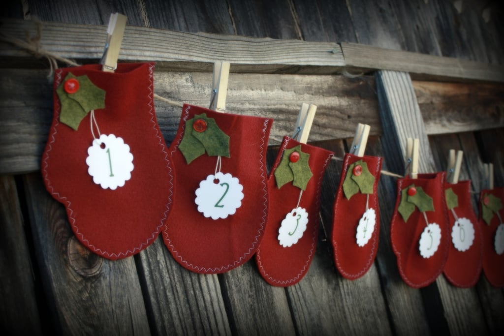 12 Day Christmas Advent Countdown Garland ($25)