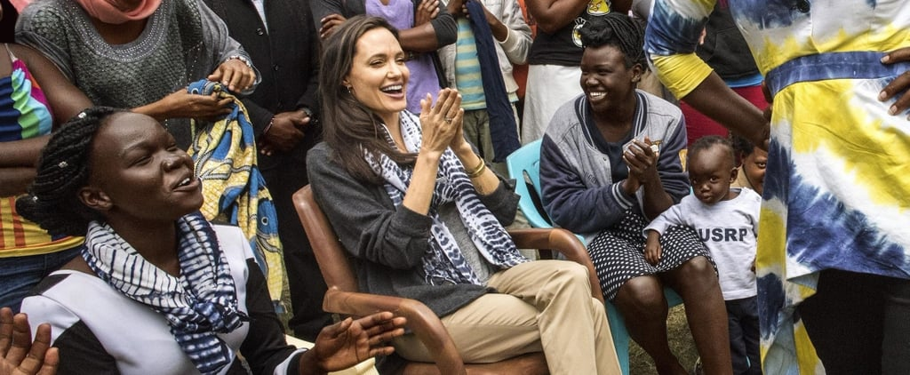 Angelina Jolie Went to a Fashion Show in the Most Understated Yet Fabulous Pair of Shoes