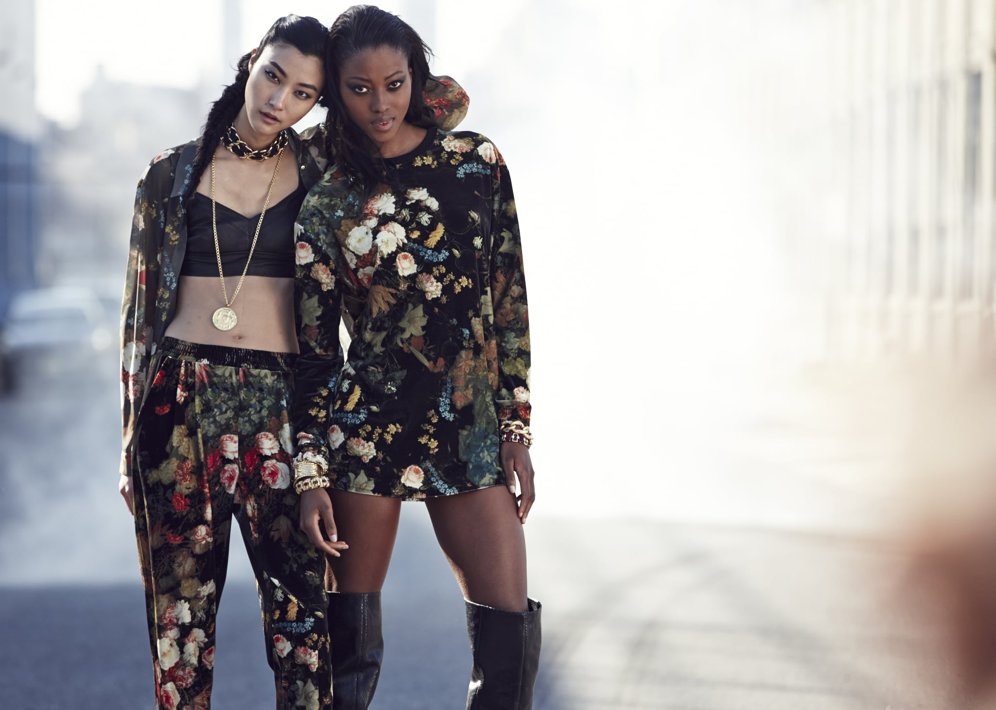 Rihanna was sure to include florals on a number of pieces in this collection. Photo courtesy of River Island
