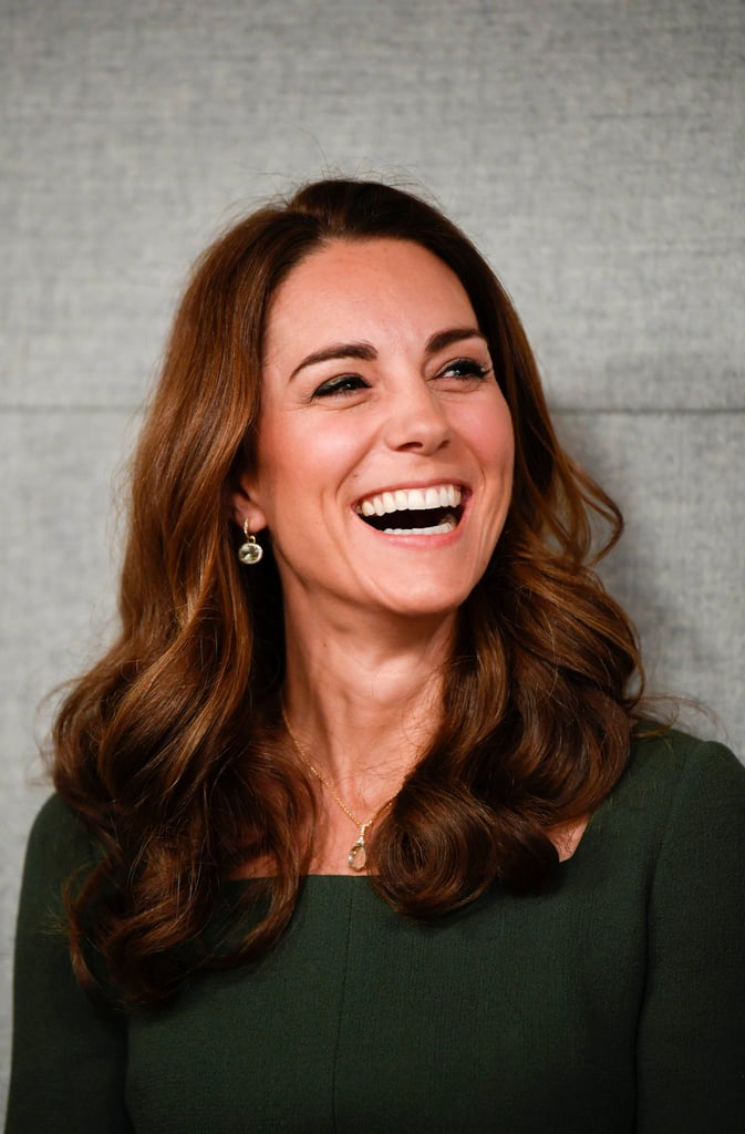 Kate Middleton's Rounded Waves, 2019
