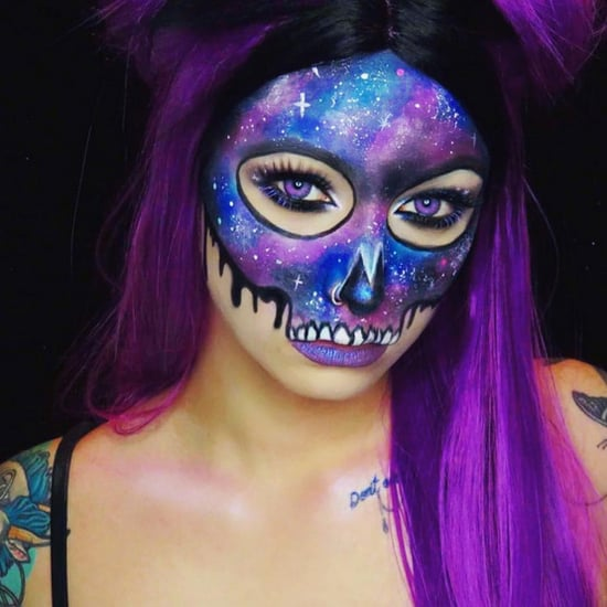 Galaxy Halloween Makeup Ideas