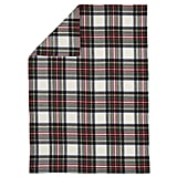 The Land of Nod Tartan Throw Blanket