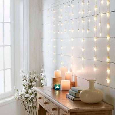 Apothecary Novelty Stars 60 Indoor String Lights