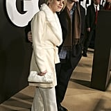 Peter Facinelli and Jennie Garth attended a Dec. 2004 GQ bash in LA.