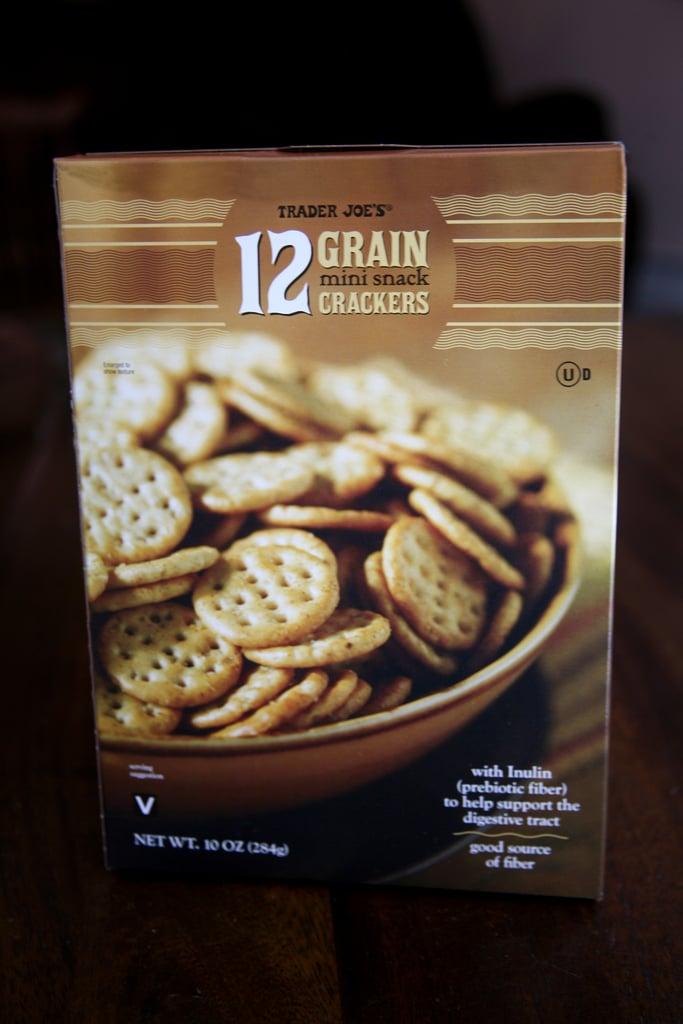 12 Grain Mini Snack Crackers