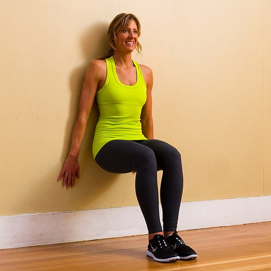 Knee Pain: Wall Squats
