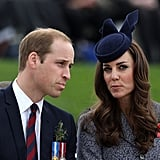 """Kate: """"No, William, they aren't supposed to look like bunny ears."""""""