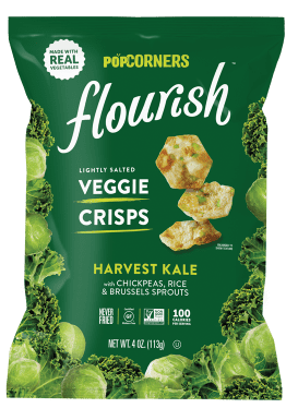 Popcorners Flourish Harvest Kale Veggie Crisps