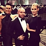 Megan Gale, Alex Perry and Cheyenne Tozzi