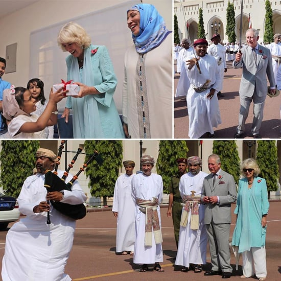 VIDEO: Watch Prince Charles Do Traditional Omani Sword Dance