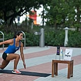 Runner's Lunge With Knee Drive