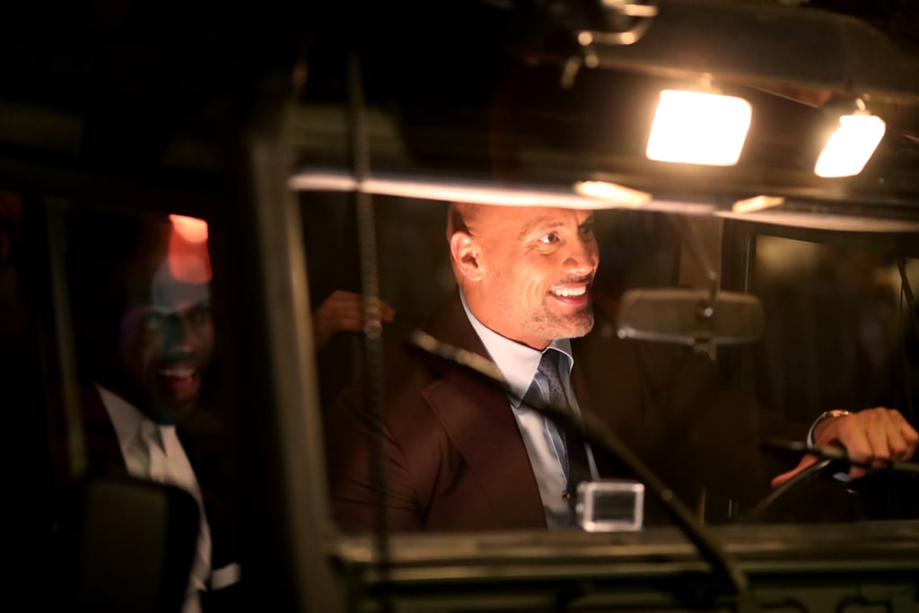 Pics: Dwayne Johnson at Jumanji Premiere in LA December 2017