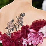 Scarlett Johansson's Back Tattoo