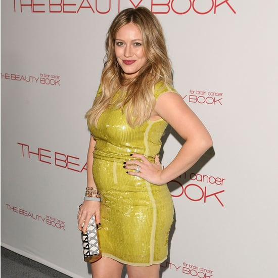 Pregnant Hilary Duff Shows Baby Bump Pictures