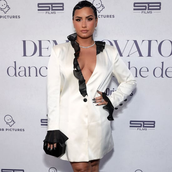 Demi Lovato's Blazer Dress | Dancing With the Devil Premiere