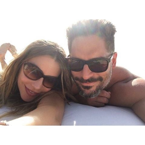 """After making their love official with a lavish wedding ceremony in Florida on Nov. 22, Sofia Vergara and Joe Manganiello escaped to the private Parrot Cay Resort in Turks and Caicos for a romantic honeymoon. On Monday, the couple gave us a sneak peak at their tropical getaway, sharing a few snaps on Instagram. In one of the pictures, posted by both Sofia and Joe, Sofia wrote, """"We will never forget this place,"""" while Joe's caption reads, """"I cannot thank @RealRobertEarl enough for the best vacation of my life! #ParrotCay!"""" While we anxiously await more photos from Sofia and Joe's trip, get a first look at Sofia's massive diamond stunner."""