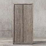 White Walkers: Reclaimed Russian Oak Panel Double-Door Cabinet