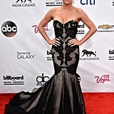 Kesha made a stunning arrival on the Billboard Music Awards red carpet.