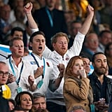 When Harry Got Excited at the Rugby World Cup