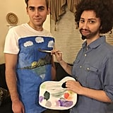 Bob Ross and A Painting
