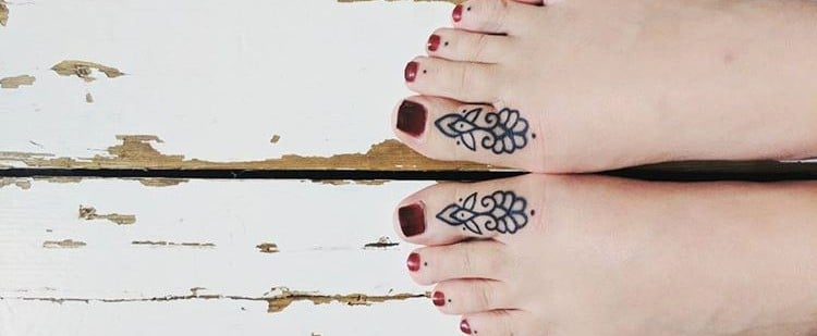 Sexy Toe Tattoos