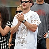 Justin Timberlake at the US Open.