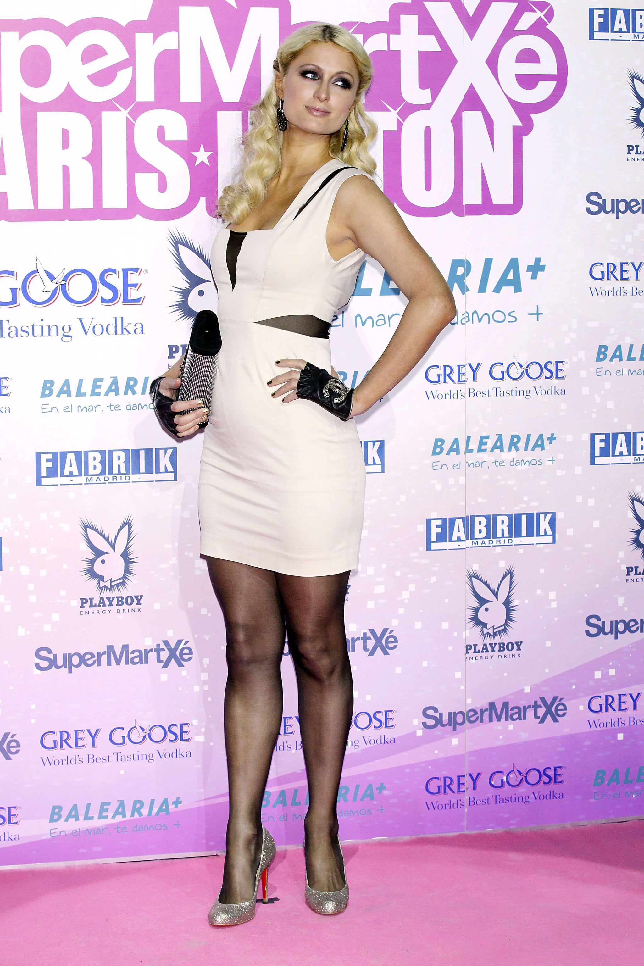 Paris Hilton Breaks Out Her Leather For a Wild Ride in Madrid