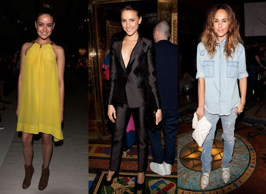 Pictures of Front Row Celebrities From 2011 RAFW at Shakuhachi and camilla and marc on Day Three
