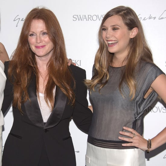 Elizabeth Olsen at Swarovski Party in NYC | Pictures