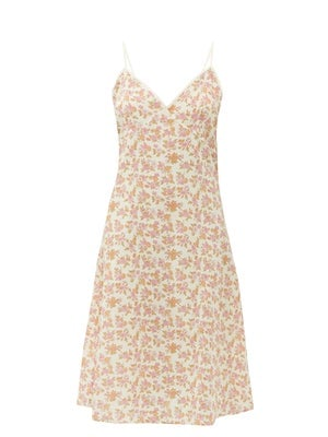 Domi Floral-Print Cotton Nightdress