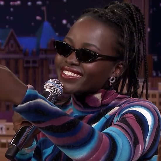 Lupita Nyong'o Rapping on The Tonight Show Video