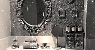 Glitter Walls Are Now a Thing, and Honestly, We Can't Say We're Mad About It