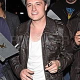 Josh Hutcherson flashed a smile.