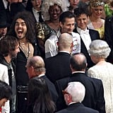 Russell Brand, Prince Philip, and the Queen