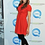 Kelly Bensimon at NY Fashion Week.