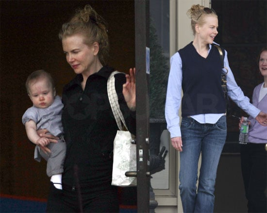 Photos of Sunday Rose and Nicole Kidman in Tennessee, Keith Urban Says He's Definitely Not Pregnant
